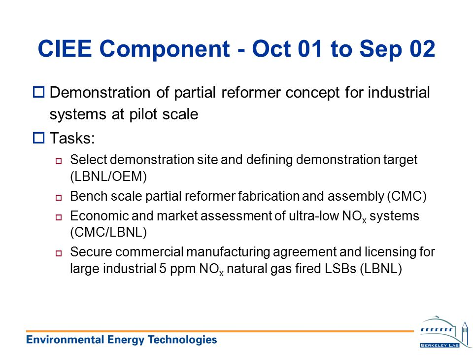 CIEE Component - Oct 01 to Sep 02