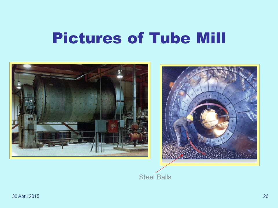 Pictures of Tube Mill Steel Balls 13 April 2017