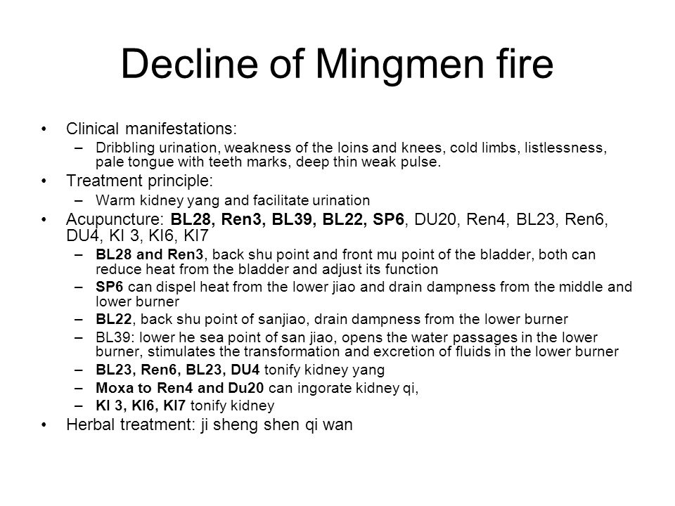 Decline of Mingmen fire