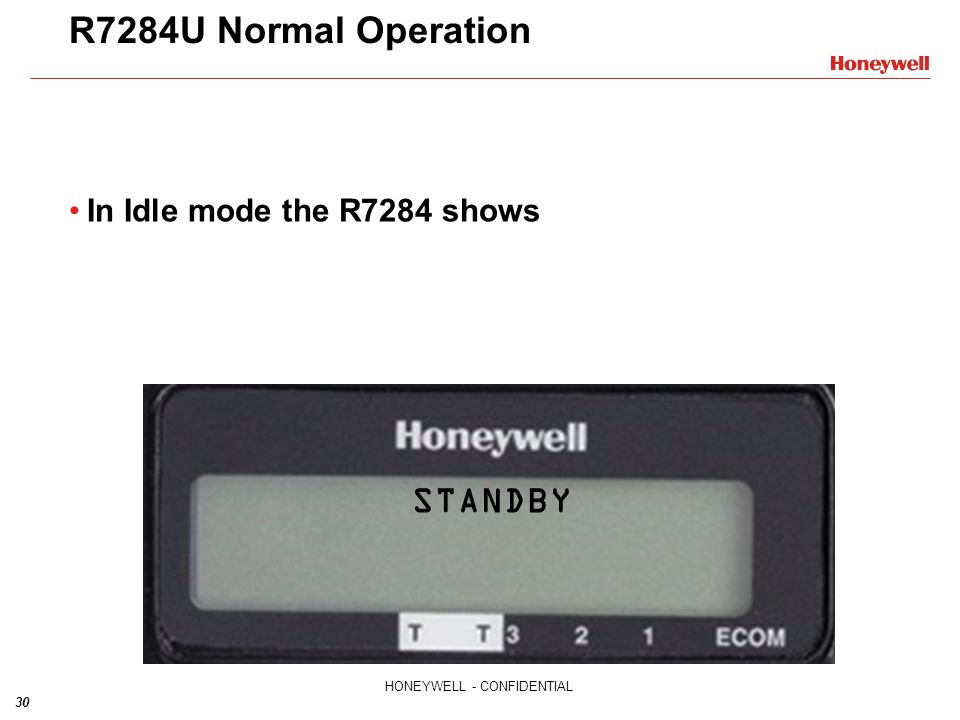 R7284U+Normal+Operation+In+Idle+mode+the+R7284+shows+STANDBY r7284u1004 universal digital electronic oil primary training honeywell r7284 wiring diagram at eliteediting.co