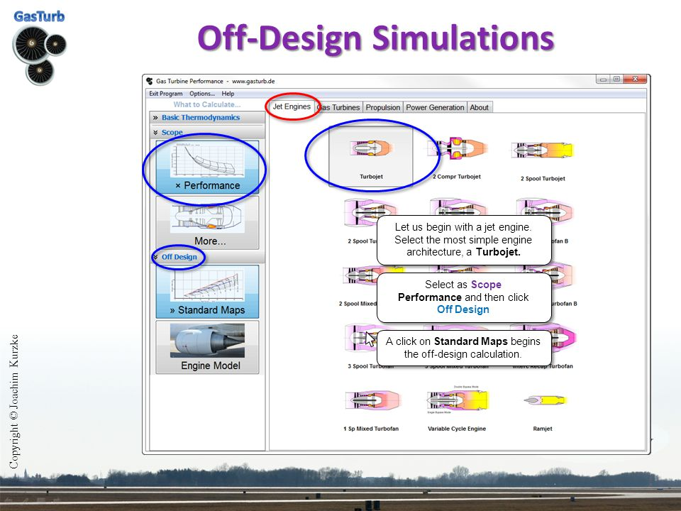 Off-Design Simulations