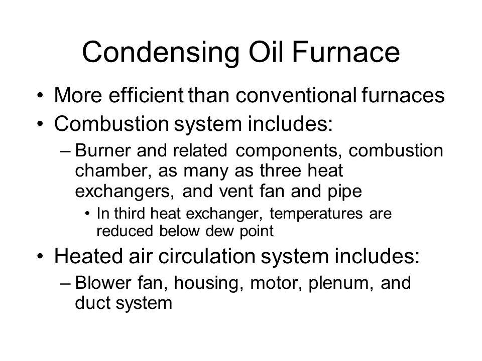 Condensing Oil Furnace