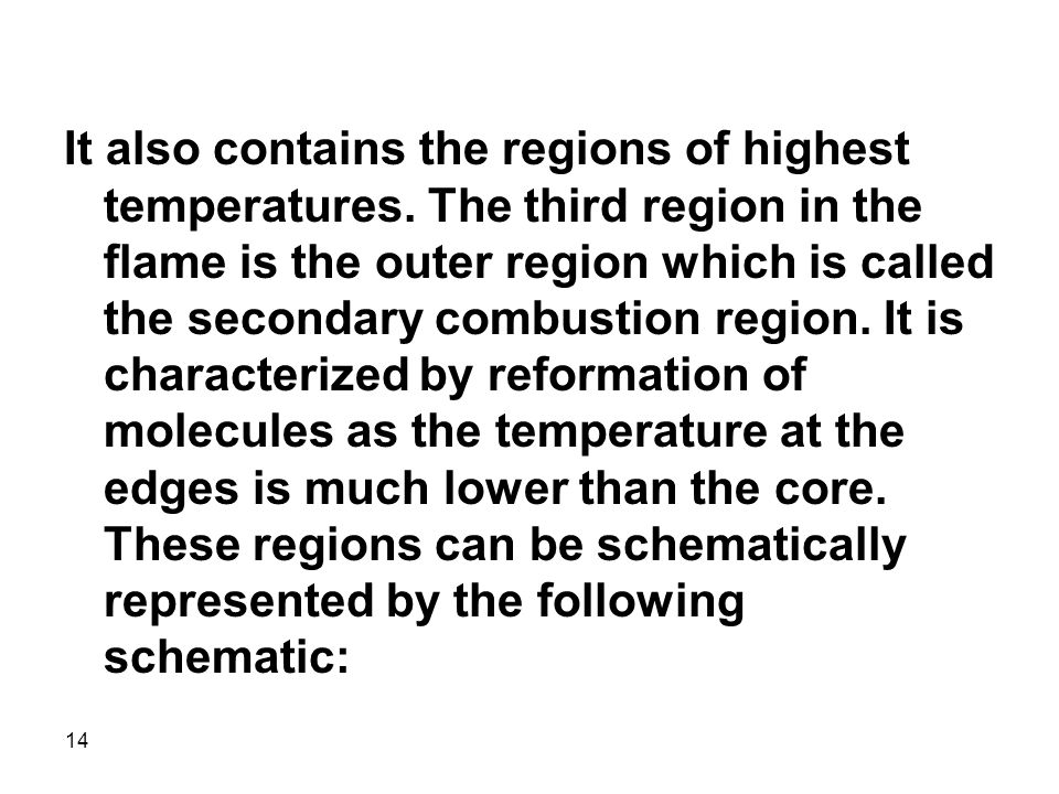 It also contains the regions of highest temperatures