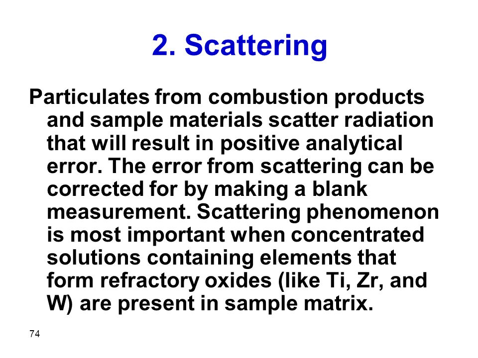 2. Scattering