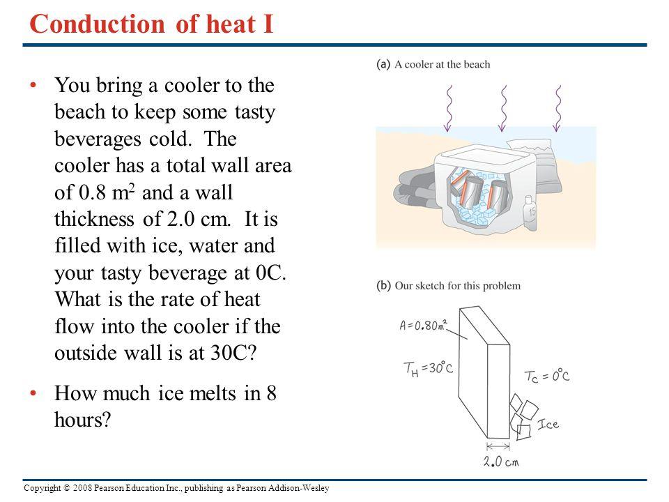 Conduction of heat I