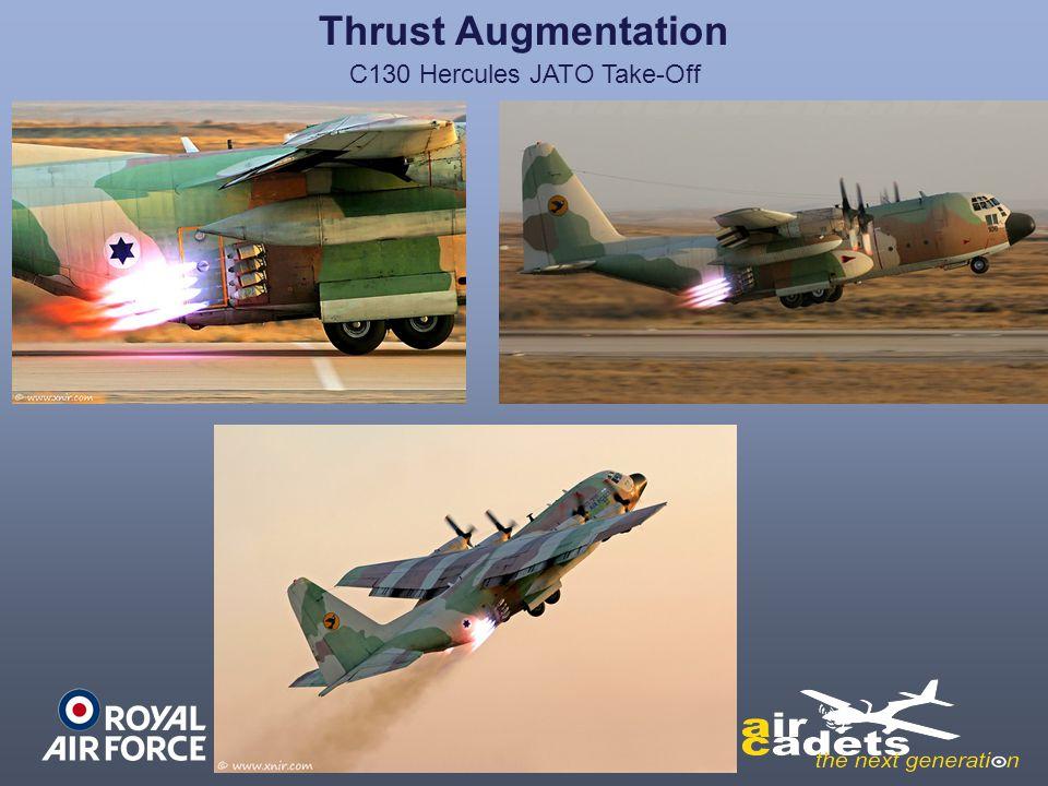 Thrust Augmentation C130 Hercules JATO Take-Off