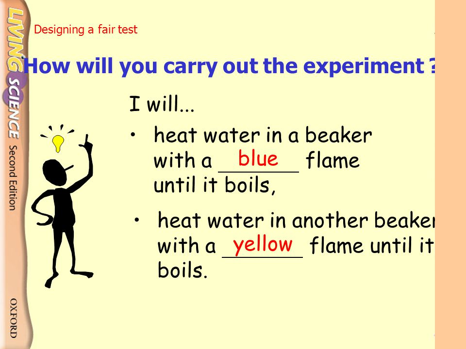 How will you carry out the experiment