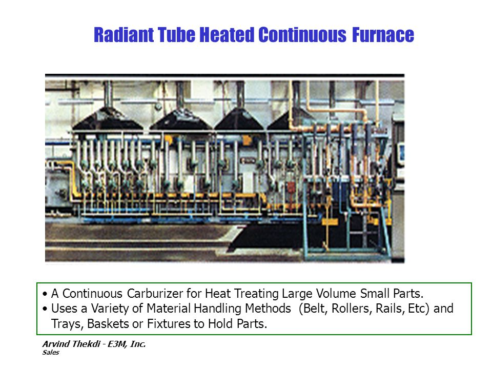 Radiant Tube Heated Continuous Furnace