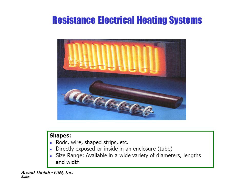 Resistance Electrical Heating Systems