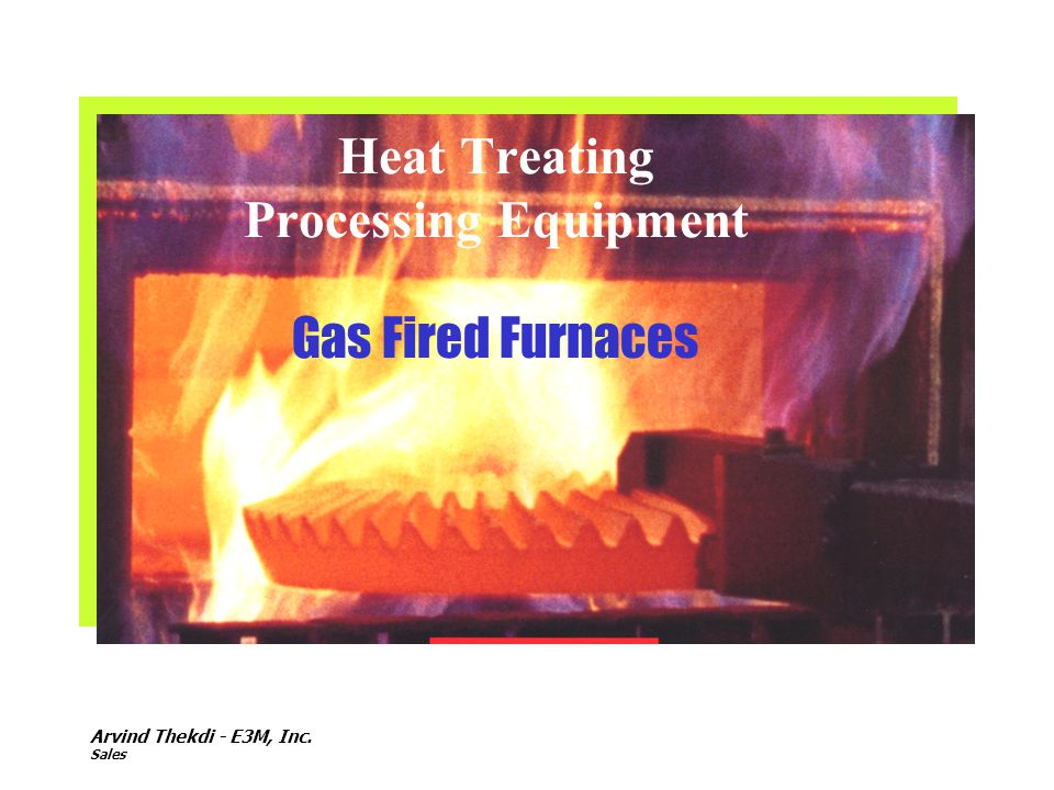 Heat Treating Processing Equipment Gas Fired Furnaces