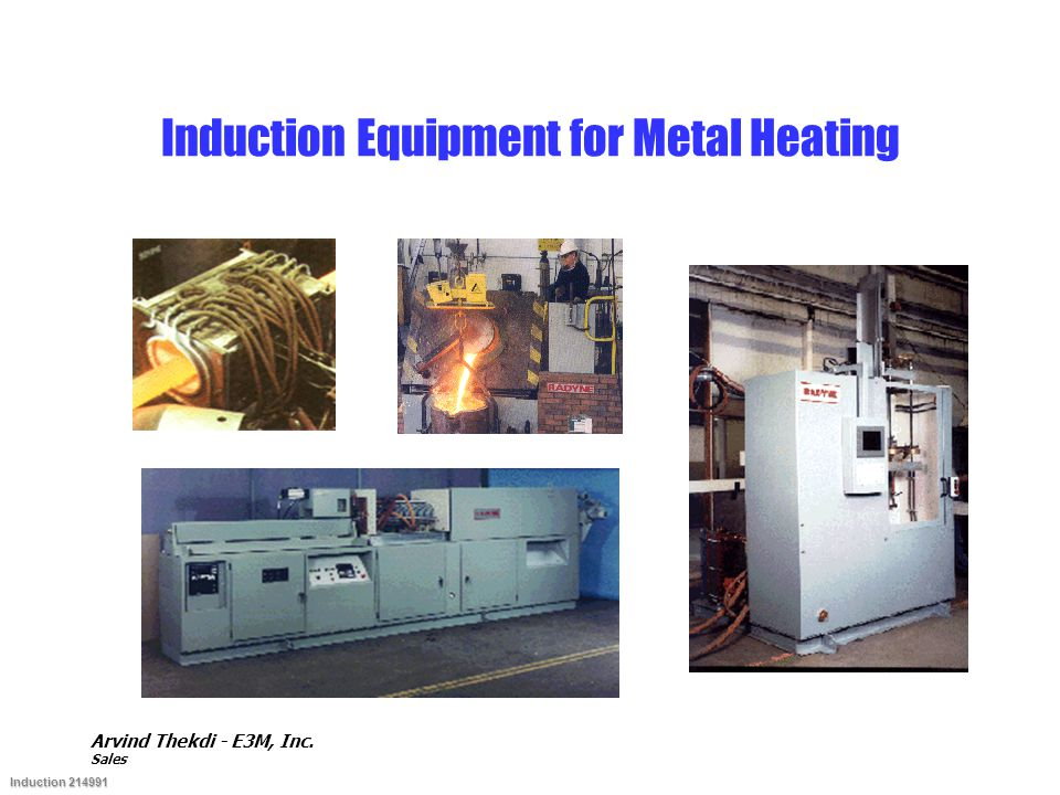 Induction Equipment for Metal Heating