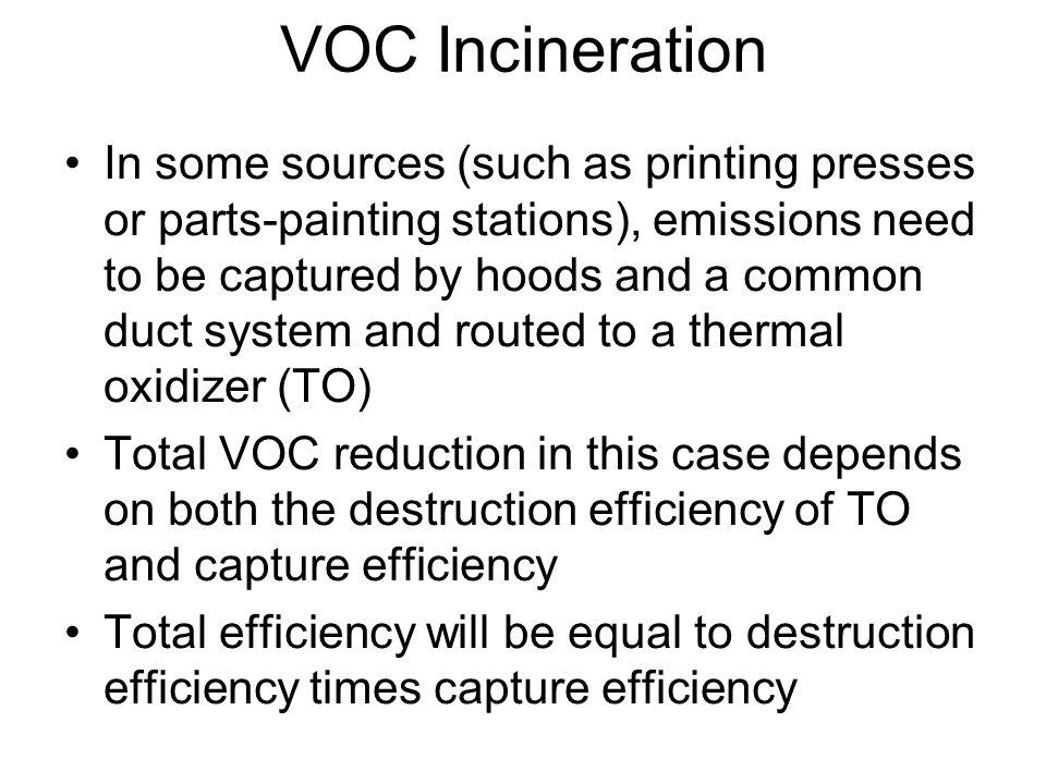 VOC Incineration