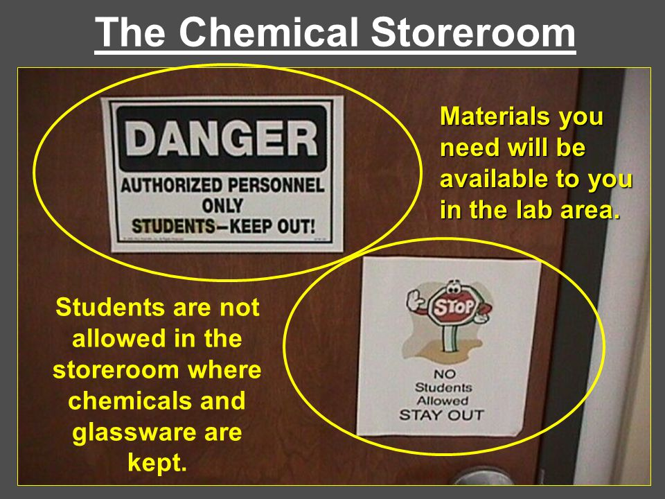 The Chemical Storeroom