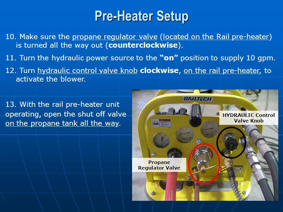 HYDRAULIC Control Valve Knob Propane Regulator Valve