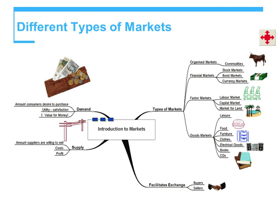 Different Types of Markets
