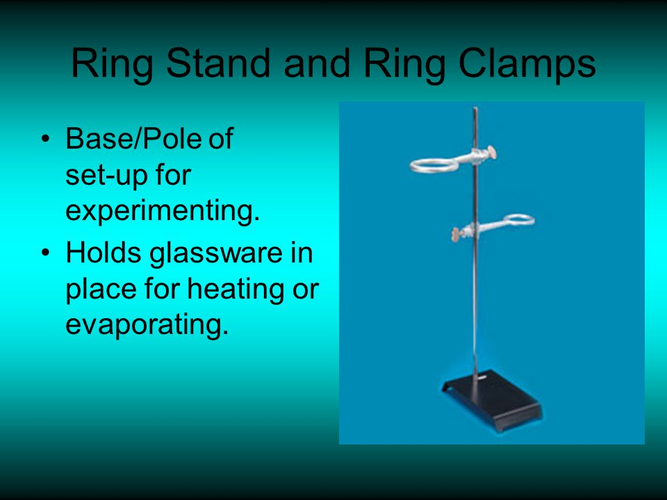 Ring Stand and Ring Clamps