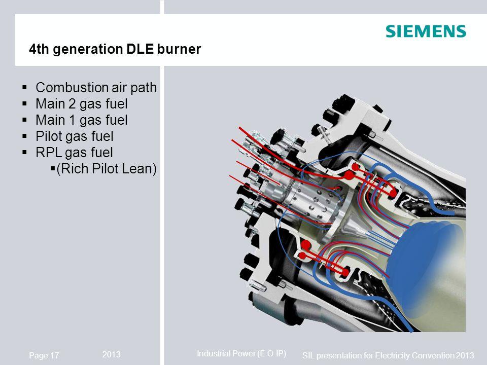 4th generation DLE burner