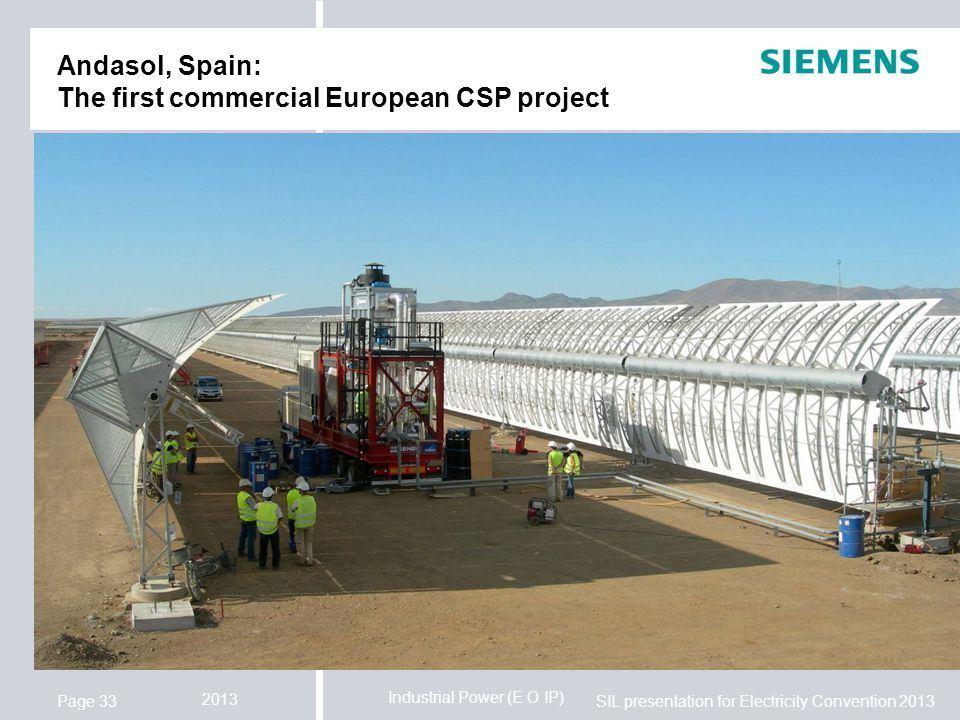 Andasol, Spain: The first commercial European CSP project