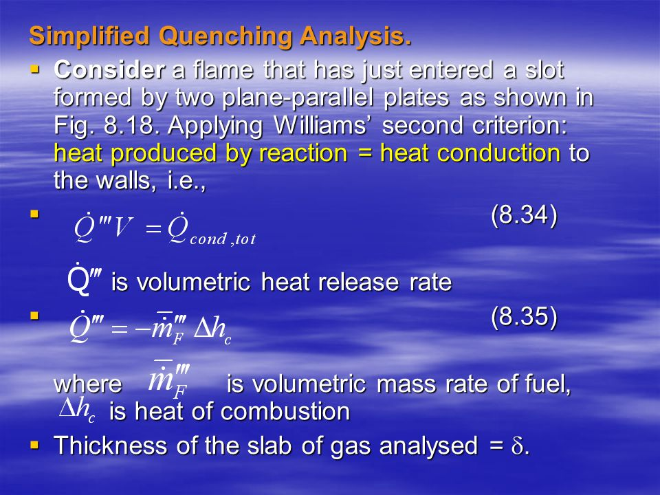 Simplified Quenching Analysis.
