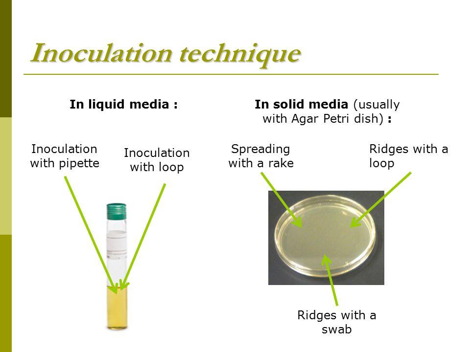 Inoculation technique