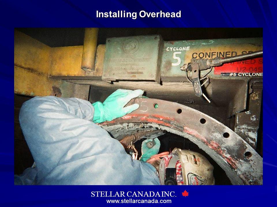 Installing Overhead