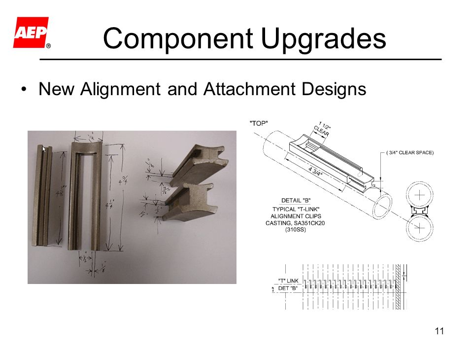 Component Upgrades New Alignment and Attachment Designs