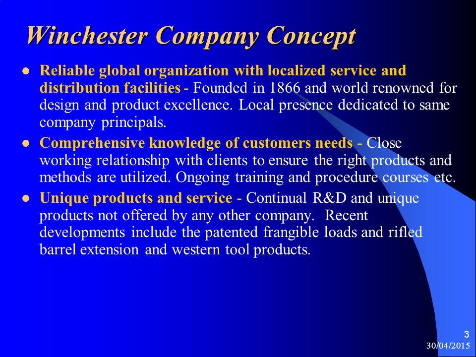 Winchester Company Concept