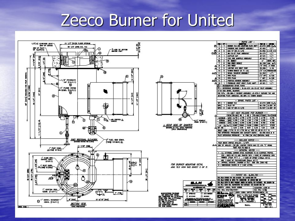 Zeeco Burner for United