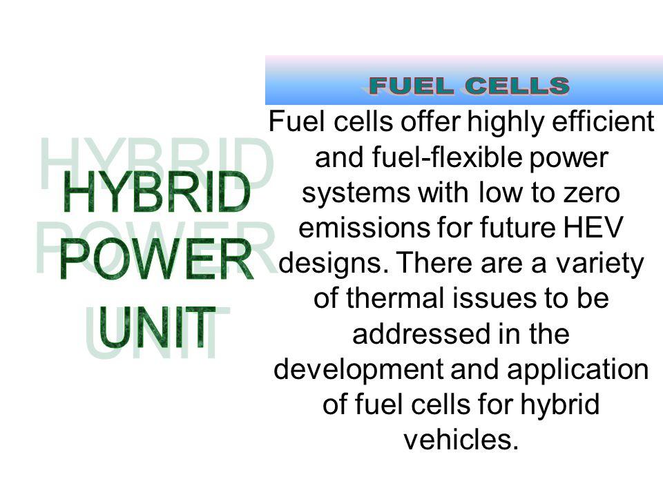 FUEL CELLS HYBRID POWER UNIT
