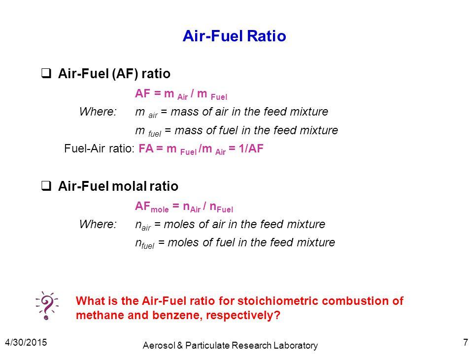 Air Ratio Natural Gas