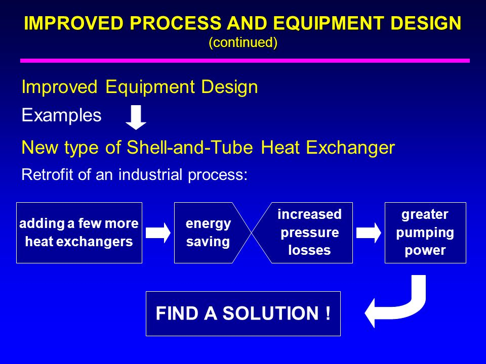 adding a few more heat exchangers increased pressure losses