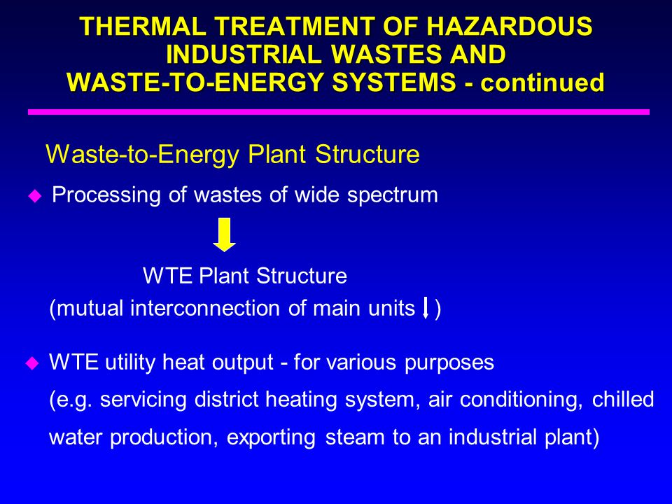 Waste-to-Energy Plant Structure