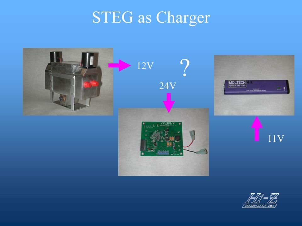 STEG as Charger 12V 24V 11V