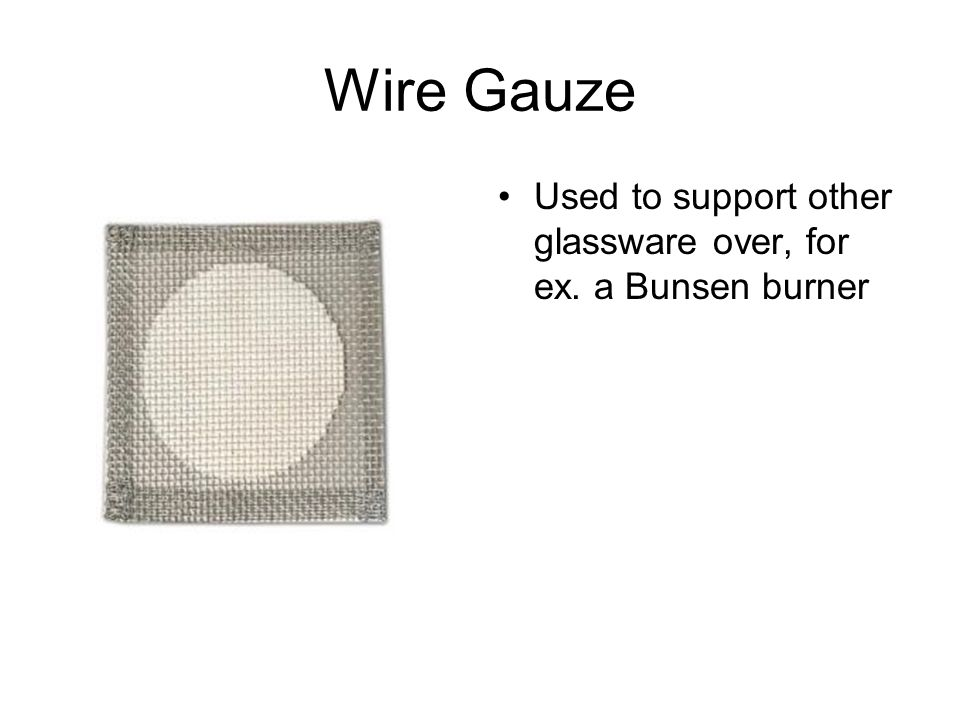 Wire+Gauze+Used+to+support+other+glassware+over%2C+for+ex.+a+Bunsen+burner what are wire gauze used for all wiring diagram and wire schematics wire gauge diagram at gsmx.co