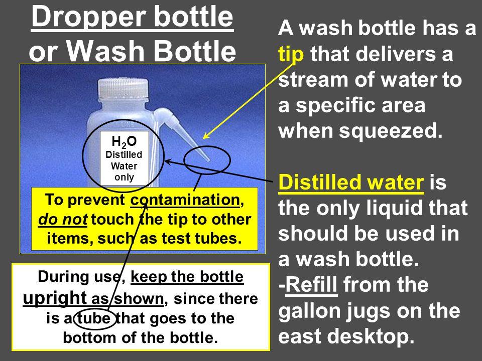 Dropper bottle or Wash Bottle