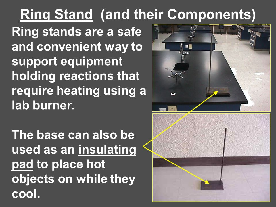 Ring Stand (and their Components)