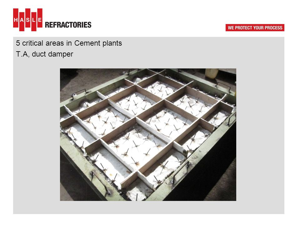 5 critical areas in Cement plants