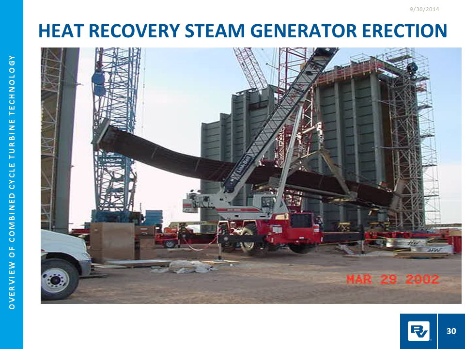 Heat Recovery Steam Generator Erection