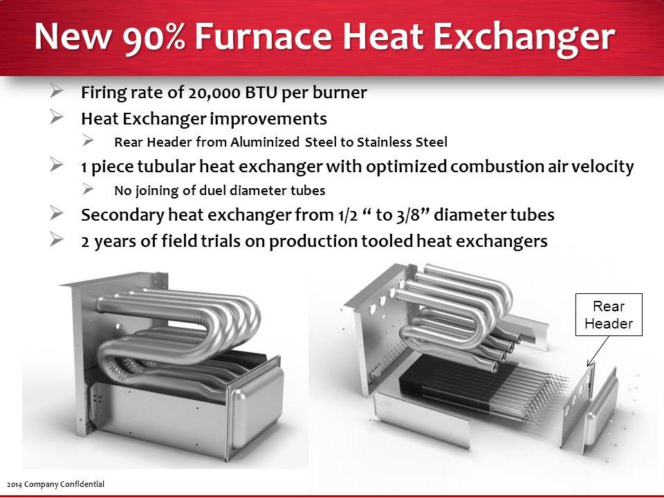 New 90% Furnace Heat Exchanger