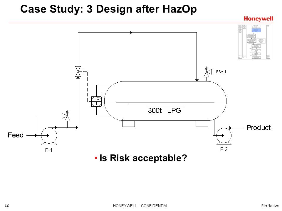 Case Study: 3 Design after HazOp