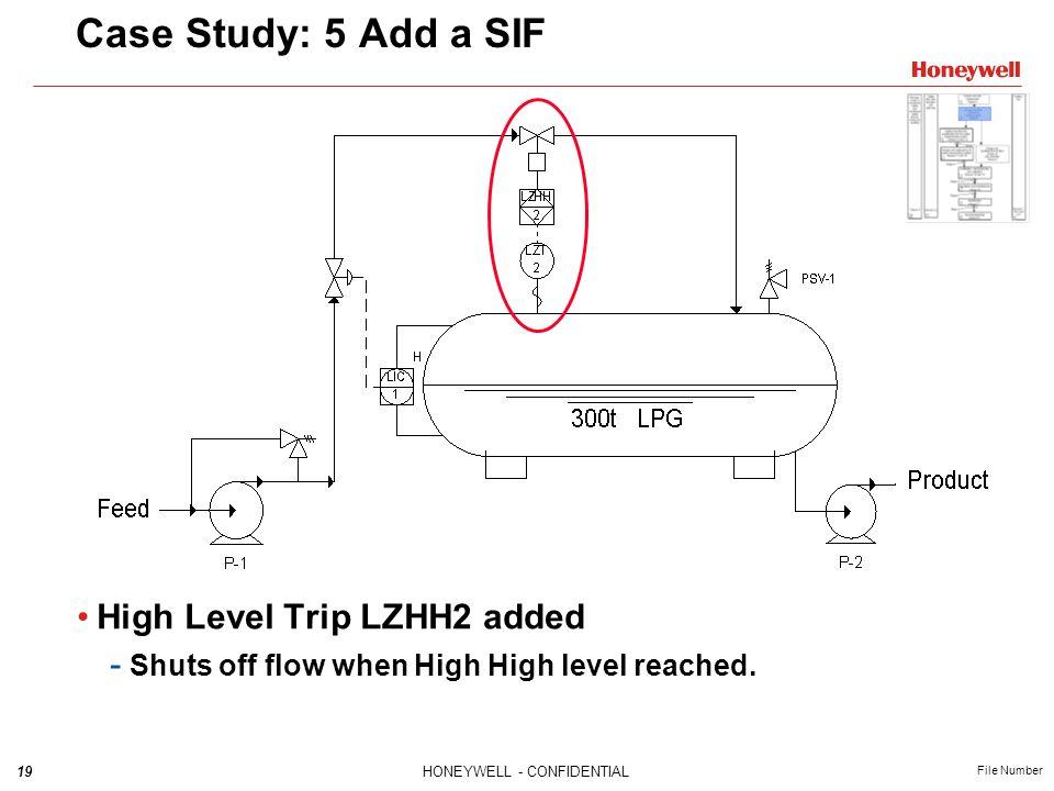 Case Study: 5 Add a SIF High Level Trip LZHH2 added