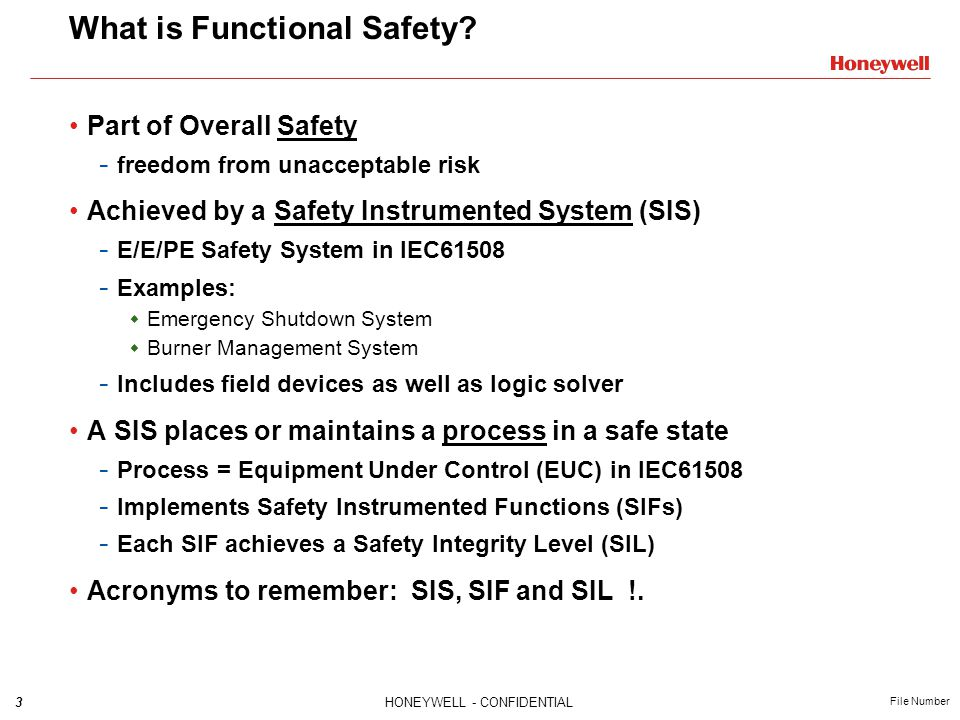 What is Functional Safety