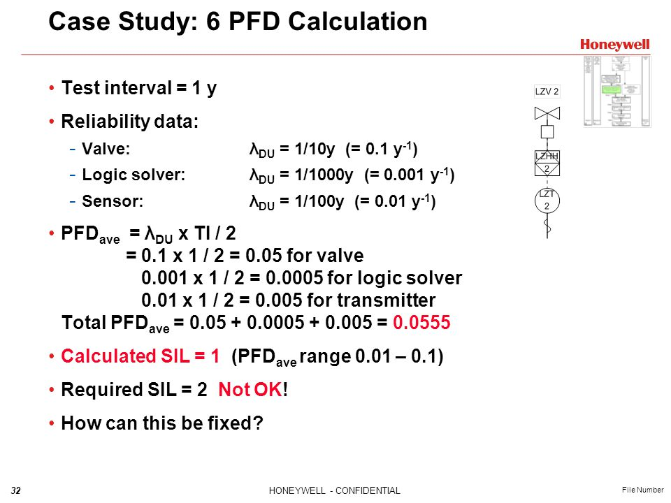 Case Study: 6 PFD Calculation