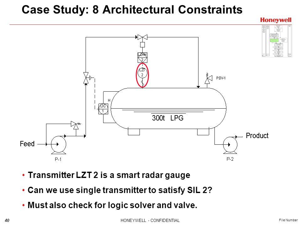 Case Study: 8 Architectural Constraints