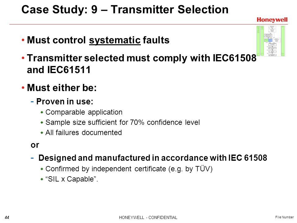 Case Study: 9 – Transmitter Selection