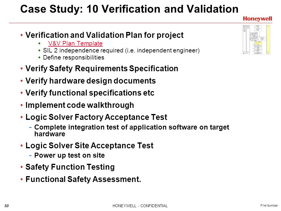 Case Study: 10 Verification and Validation