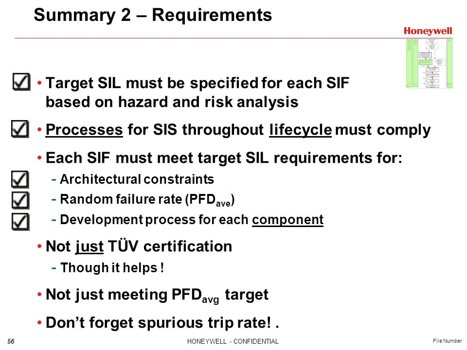 Summary 2 – Requirements