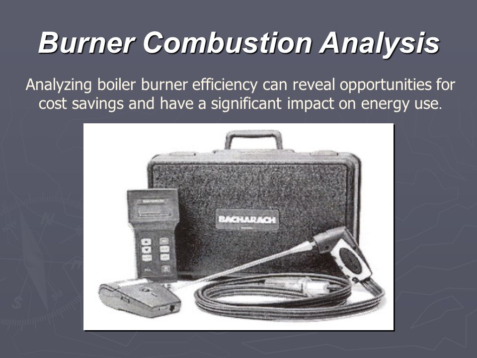 Burner Combustion Analysis
