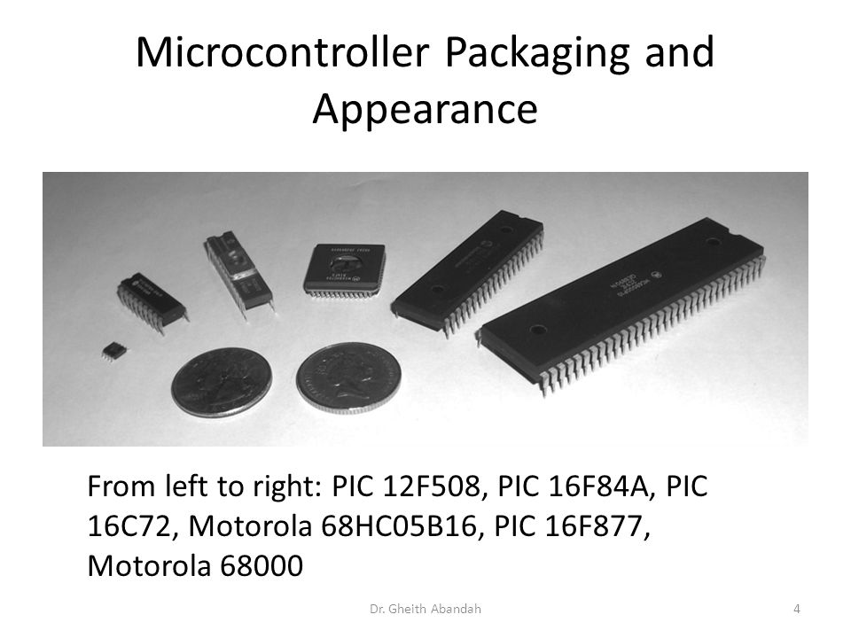 Microcontroller Packaging and Appearance