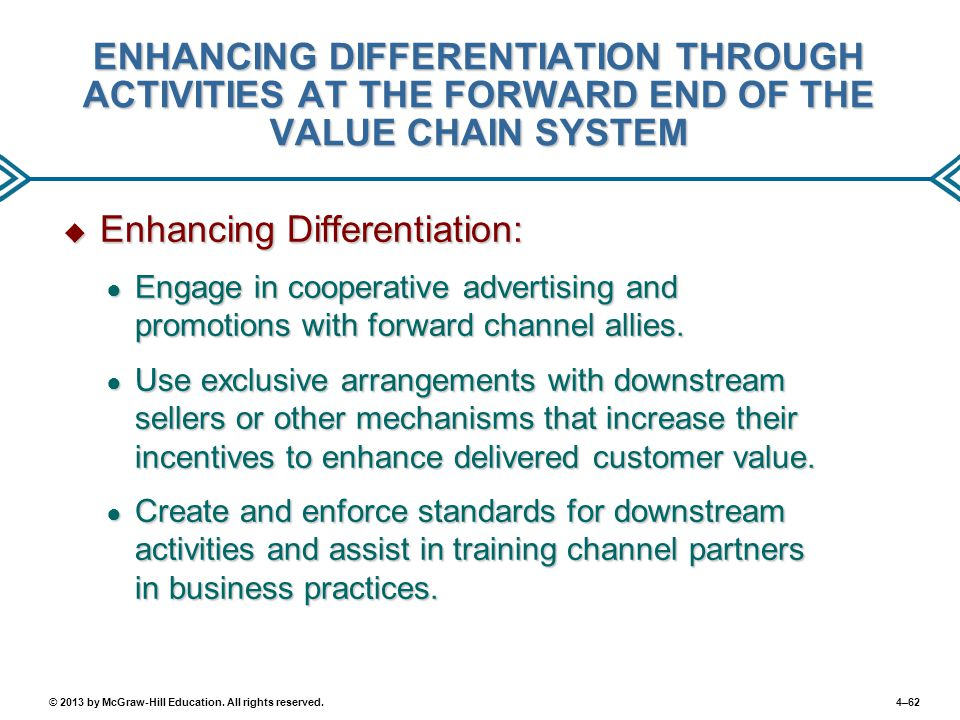 Enhancing Differentiation: